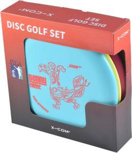 Xcom 3 Disc Golf Set