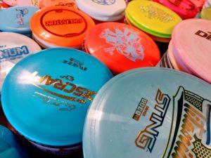 New Disc Golf Discs