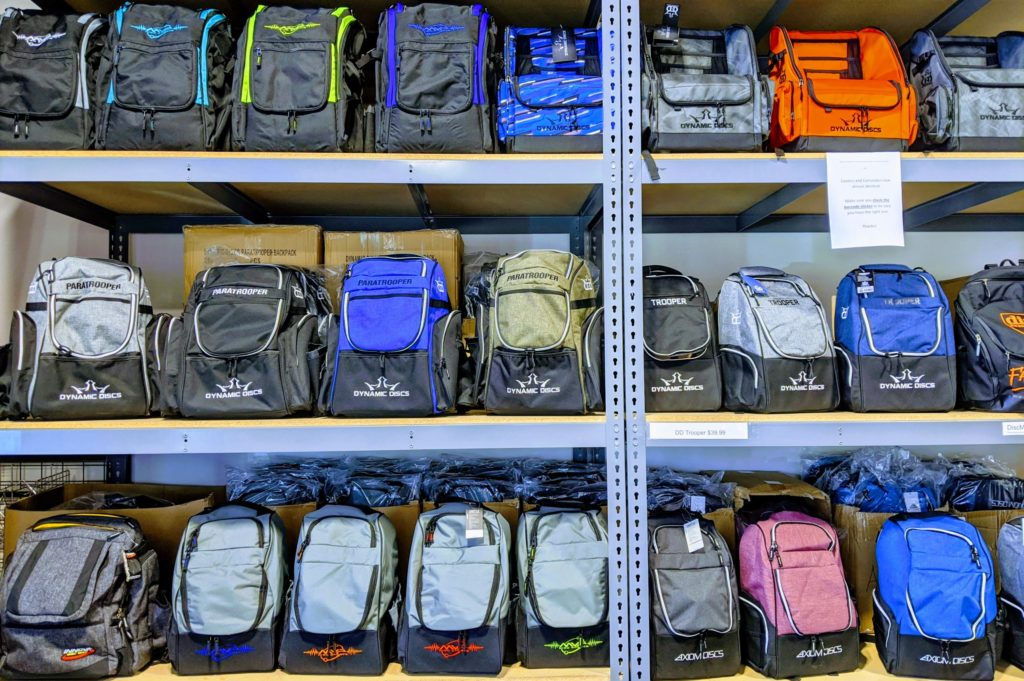Disc Golf bags and backpacks